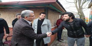 Murat Aydın Çubuklu'da Site Ziyareti Gerçekleştirdi