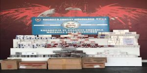 Kocaeli'de 61 Bin 500 Paket Kaçak Sigara Ele Geçirildi