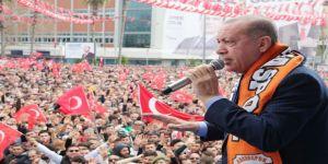 """Cumhurbaşkanı Erdoğan: """"Ezan Ve Bayrak Düşmanlarıyla Sonuna Kadar Mücadele Edeceğiz"""" (1)"""