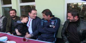 Ünal Karaman, Trabzonspor Borçka Futbol Okulu'nu Ziyaret Etti