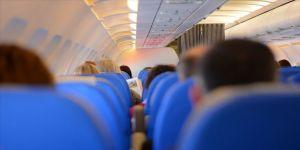Uçakta korku dolu anlar yaşandı