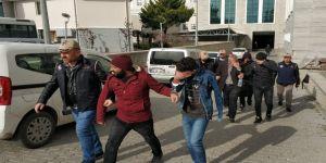 Samsun'da Deaş'tan 5 Şahıs Adliyede