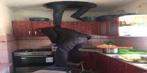 Suç Makinesi Kadın Tavan Arasında Yakalandı