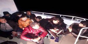 Sahil Güvenlik Ekiplerine Yakalandılar