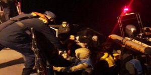 Lastik Botta 32 Afgan Kaçak Yakalandı