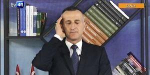 Tv Sunucusu, Taksim'deki Ezan Protestosuna Canlı Yayında Ezan Okuyarak Tepki Gösterdi