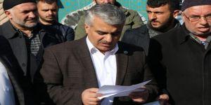 Bitlis'ten Ezana Yapılan Saygısızlığa Tepki