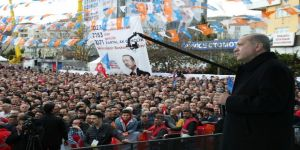 """Cumhurbaşkanı Erdoğan: """"Gebze - Halkalı Banliyö Tren Hattı Eskiden 185 Dakikada Kat Edilen Bir Mesafe İken Şimdi 115 Dakikaya İnerek İstanbullulara Net 1 Saat 10 Dakika Kazandıracak"""""""