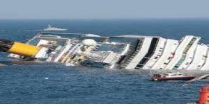 """İtalyan gemisi """"Grande America"""" Fransa açıklarında battı"""