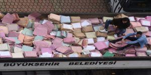 Trabzon Adliyesi Arşivindeki Dosyalar Raflardan İndirildi