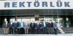Balkan Üniversiteler Birliği Yönetim Kurulu Trakya Üniversitesinde Toplandı