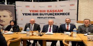 """Uysal: """"Büyükçekmece'yi 10 Yıl İçerisinde İstanbul'un En Güzel İlçesi Yapacağız"""""""