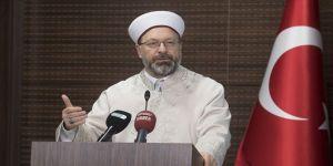 Diyanet İşleri Başkanı Erbaş'tan dünya kamuoyuna 'Mescid-i Aksa' çağrısı