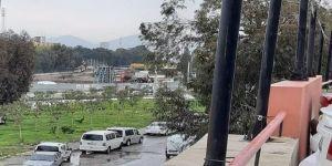 İzmir'de Otopark Alanında Göçük