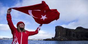 Şahika Ercümen'in Antarktika gururu