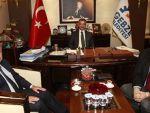 Palgaz'ın yöneticileri ,Başkan Köşker'in konuğu