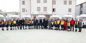 Van'da Tam Donanımlı Yeni Ambulanslar Hizmette