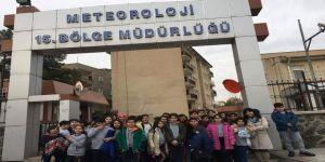 Bilnetli Öğrencilerden Meteoroloji Müdürlüğü'ne Ziyaret
