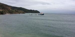 Marmara Adası'nda Kuru Yük Gemisi Battı