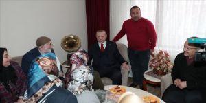 Erdoğan'dan ev ziyareti