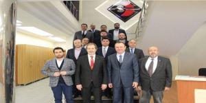 Müsiad'dan Osb Başkanı Topçuoğlu'na Ziyaret