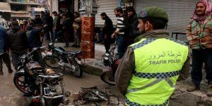 Bab'da bomba yüklü motosiklet saldırısı