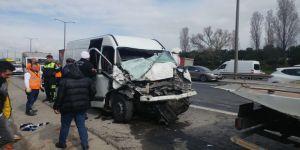 Hadımköy Gişelerde Kaza: 1 Ölü, 2 Yaralı