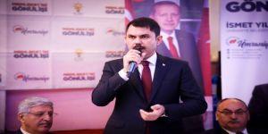 """Çevre Ve Şehircilik Bakanı Kurum: """"Hedefimiz 250 Bin Sosyal Konut"""""""