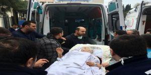 Hastanede Korkutan Yangın: Camdan Tahliye Edildiler