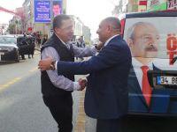 Türkkan ve Tarhan Çayırova' da karşılaştılar