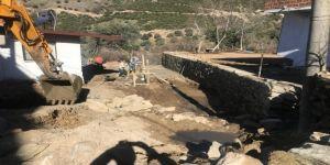 Nazilli Belediyesi İstinat Duvarı Yapım Çalışmalarını Tamamladı