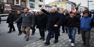 Ümraniye'deki Taksim Meydanı'ndan Daha Büyük Meydan Böyle Olacak