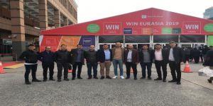 Kayseri Şeker Elektrik Otomasyon Ekibi Wın Eurasia 2019 Fuarında