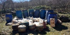 Mardin'deki Terör Operasyonunda 2 Ton Amonyum Nitrat Ele Geçirildi