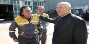 Yaşar, Örnek Sanayi Sitesi'ni Ziyaret Etti