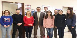 Romanyalı Öğrenciler Kbü'de