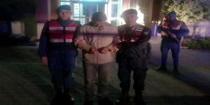 Kiralık Otomobille Koyun Çalan Şüphelisi Tutuklandı