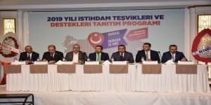 Aksaray'da İş Adamları Ve Bürokrasi Lansman Toplantısında Bir Araya Geldi