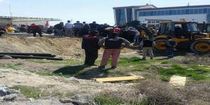 Konya'da İstinat Duvarı Çöktü: 4 İşçi Yaralı