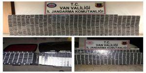 Van'da 19 Bin 970 Paket Kaçak Sigara Ele Geçirildi