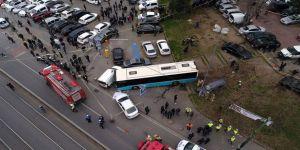 Halk Otobüsü Ortalığı Savaş Alanına Çevirdi
