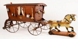 Kraliçe Victoria'nın Oyuncak Karavanı Rahmi M. Koç Müzesi'nde