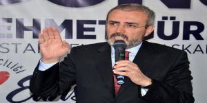 """Mahir Ünal: """"31 Mart'ta Pkk'yı, Fetö'yü, Türkiye Düşmanlarını Sevindirmeyeceğiz"""""""