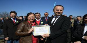 Akardere Köyüne 8 Bin 800 Adet Ceviz Fidanı Dikildi