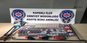 Hırsızlık Zanlıları Çalıntı Mallarla Yakalandı