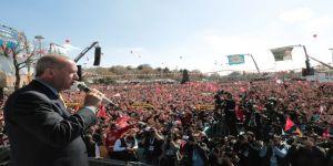 """Cumhurbaşkanı Erdoğan: """"Milletimize Yanlış Yapan Kimse Bizim Dünyamızda Doğru Olarak Kalamaz"""" (2)"""