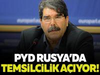 PYD Rusya'da Temsilcilik Açıyor!