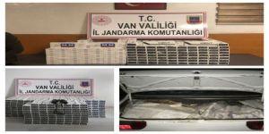 Jandarma Ekipleri 9 Bin 211 Paket Kaçak Sigara Ele Geçirdi