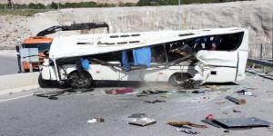 34 Özel Öğrencinin Yaralandığı Kazada Şoför Gözaltında