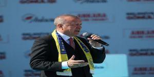 """Cumhurbaşkanı Recep Tayyip Erdoğan: """"Bu Seçim Milli İrade Yüzsüzleri İçin Son Olacak."""""""